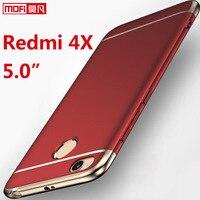 Xiaomi Redmi 4x Case Cover Hard Back Coque Ultra Thin Mofi 3 In 1 Luxury Redmi4x
