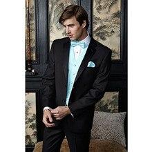tuxedo wedding groom suits men bridegroom suit black custom made suit formal wear 207 dress for best men