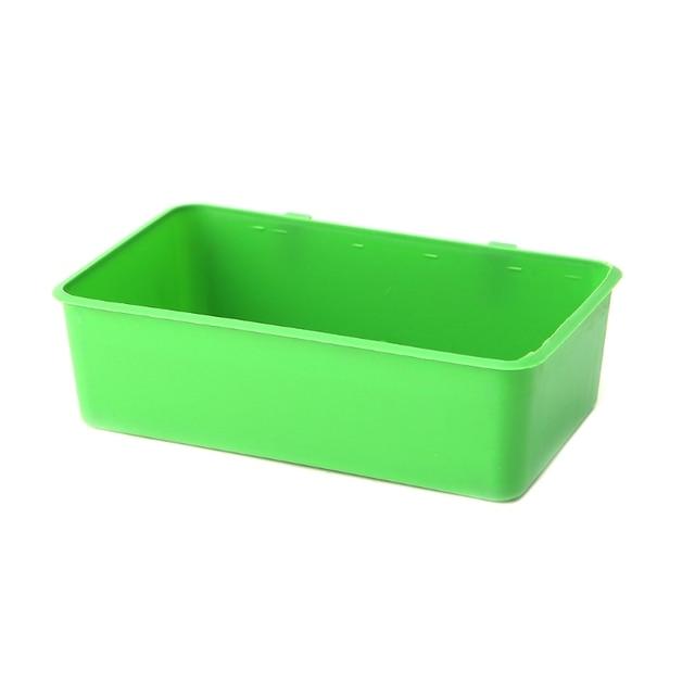 OOTDTY Food Water Plastic Bowl Cups 2