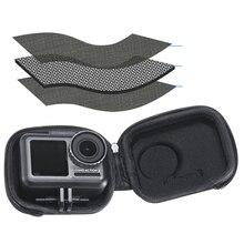 DJI OSMO için eylem spor kamera aksesuarları Mini taşınabilir depolama EVA çantası su geçirmez koruyucu mini taşıma kutusu çanta