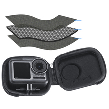ل DJI OSMO عمل الرياضة كاميرا اكسسوارات صغيرة محمولة تخزين إيفا حقيبة مقاوم للماء واقية صغيرة صندوق حمل حقيبة
