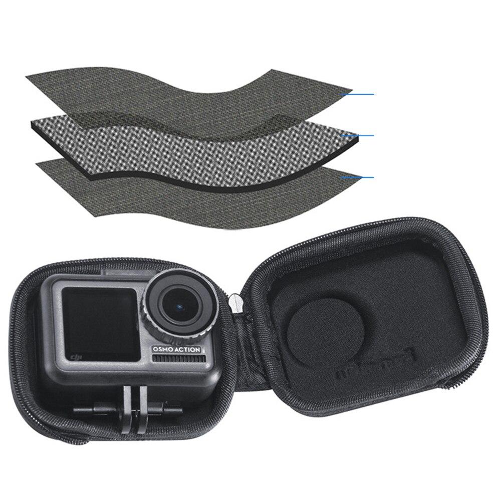 For DJI OSMO ACTION Sports Camera Accessories Mini Portable Storage EVA Bag Waterproof Protective mini Carrying Box bag