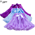 2016 Summer Baby Girl Tutu Skirt Kids Tutu Pettiskirts Dance Wear Party Tulle Skirt Petticoat Wholesale 17 Colors 1-10 Yrs AD020