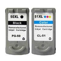Printer Cartridges PG50 CL51 Pg 50 Cl 51 Vervanging Voor Canon Pixma IP2200 MP150 MP160 MP170 MP180 MP450 MP460 Inkt cartridge