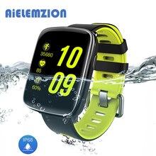 AiELEMZION GV68 Waterproof IP68 Bluetooth Smart Watch Heart Rate Monitor 1.54″ Swimming Wrist Band Intelligent Bracelet