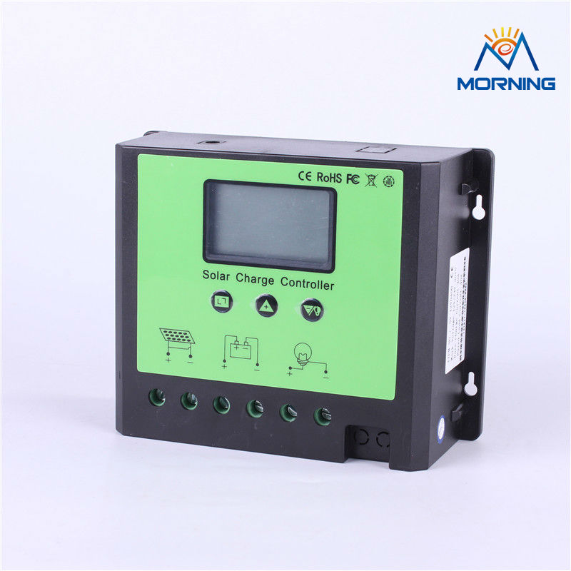 ФОТО 12/24/48V pwm solar charge controller with LCD screen of free shipping
