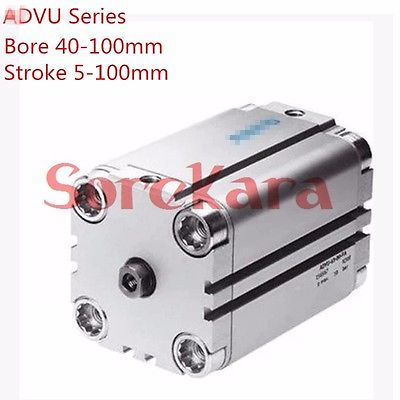 Stroke 80mm Bore 80mm ADVU-80-80-A-P-A Compact Pneumatic Cylinder Double Acting With Magnet FESTO Type free shipping 2015 yr new tea premium jasmine pearl tea jasmine longzhu flower tea green tea 250g bag vacuum packaging