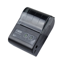 58mm Handheld Bluetooth wireless thermal printer Mobile Printer with pocket size for restaurant support Android IOS RD M58