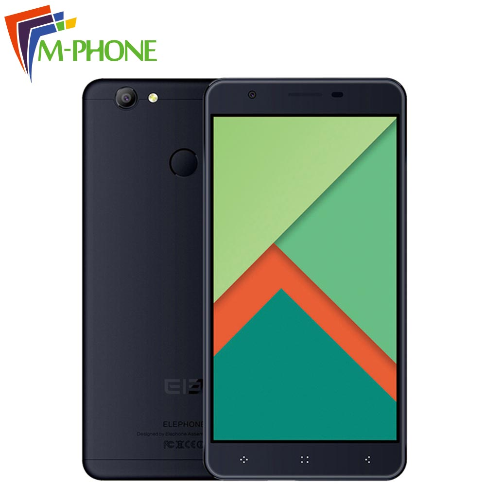 Original ELEPHONE C1X Mobile Phone 4G LTE 5 5 inch Android 6 0 MTK6737 2GB RAM