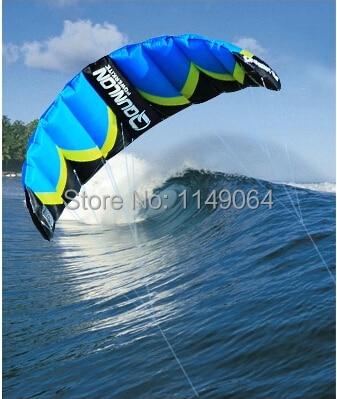 free shipping high quality quest Q2 dual line kite surf power kites factory parachute outdoor fun &sports kevlar paraglider pipa