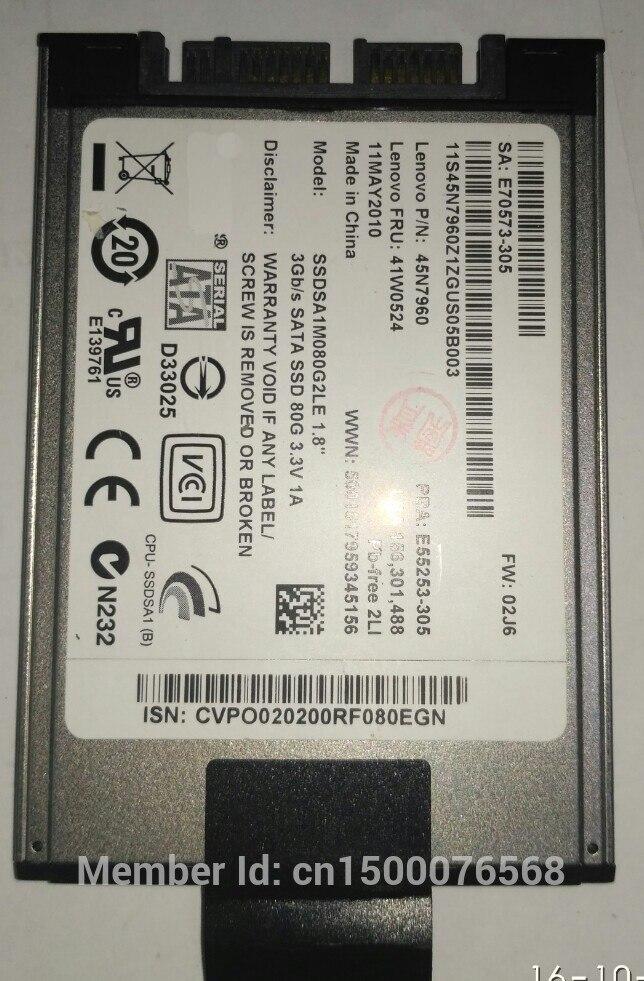 Alt 80 GB SSD 1,8