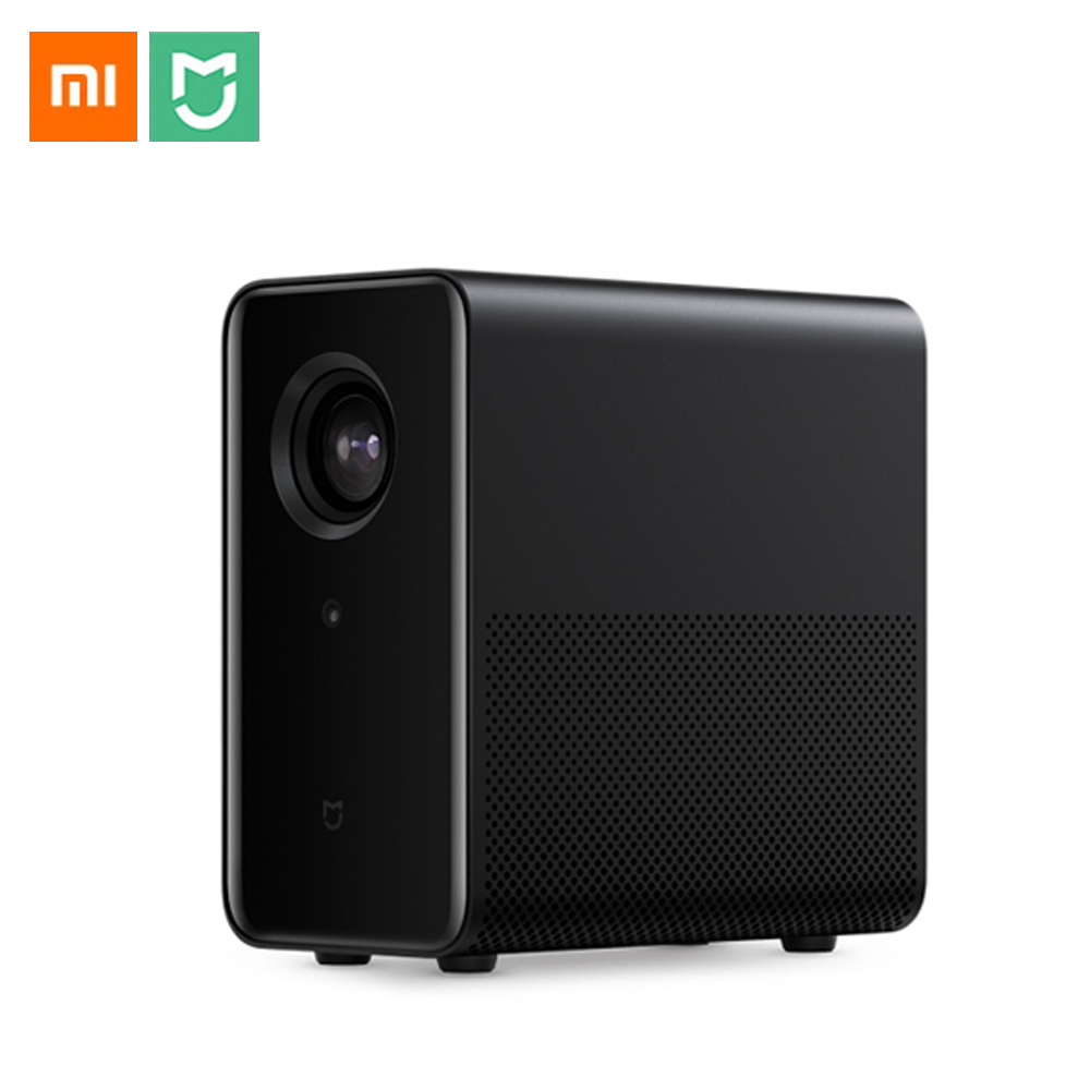 Xiao mi jia 3D Android 6.0 projecteur 3500 Lumens Wifi bluetooth 4.1 mi Support de Projection 4K