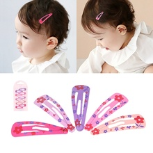 10Pcs/Set Girl Clips Hair Pins Kids Baby Barrettes Snap Supply Hair Accessories for Girls