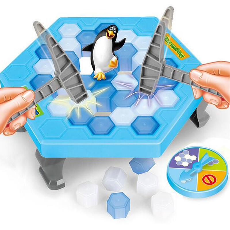 Ice Breaking Save The Penguin Funny Family Game - The One Who Make The Penguin Fall Off  ...