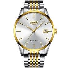 KASSAW Men's Watch Brand Watch Calendar Waterproof Steel Automatic Mechanical Watch Simple Fashion Men's Watch Relogio Masculino
