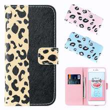 Sexy Leopard Wallet Phone Case For Samsung J2 J3 J4 J5 J6 J7 J8 (2018) Leather Cover Card Holder Coque Case Funda Fashion Women(China)