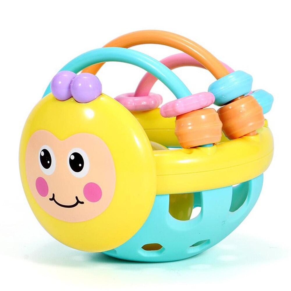 Звуковая музыка пчелиный колокольчик ручной звон Развивающие развитие безопасность домашний восприятие Мягкий шар забавная игрушка мяч нетоксичный мяч