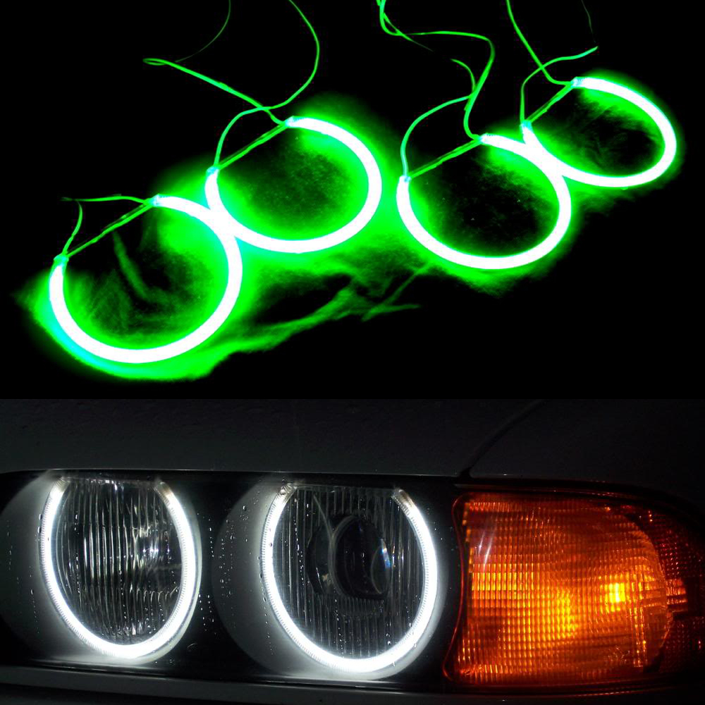 4pcs Set White Ccfl Led Angel Eyes Headlights For Bmw X5