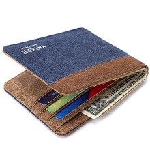 Brieftasche Geldbörsen herren Brieftaschen Leinwand Monederos Berühmte Marke Männer Brieftasche 2015 Neu Kommen Carteira Männliche Billeteras Porte