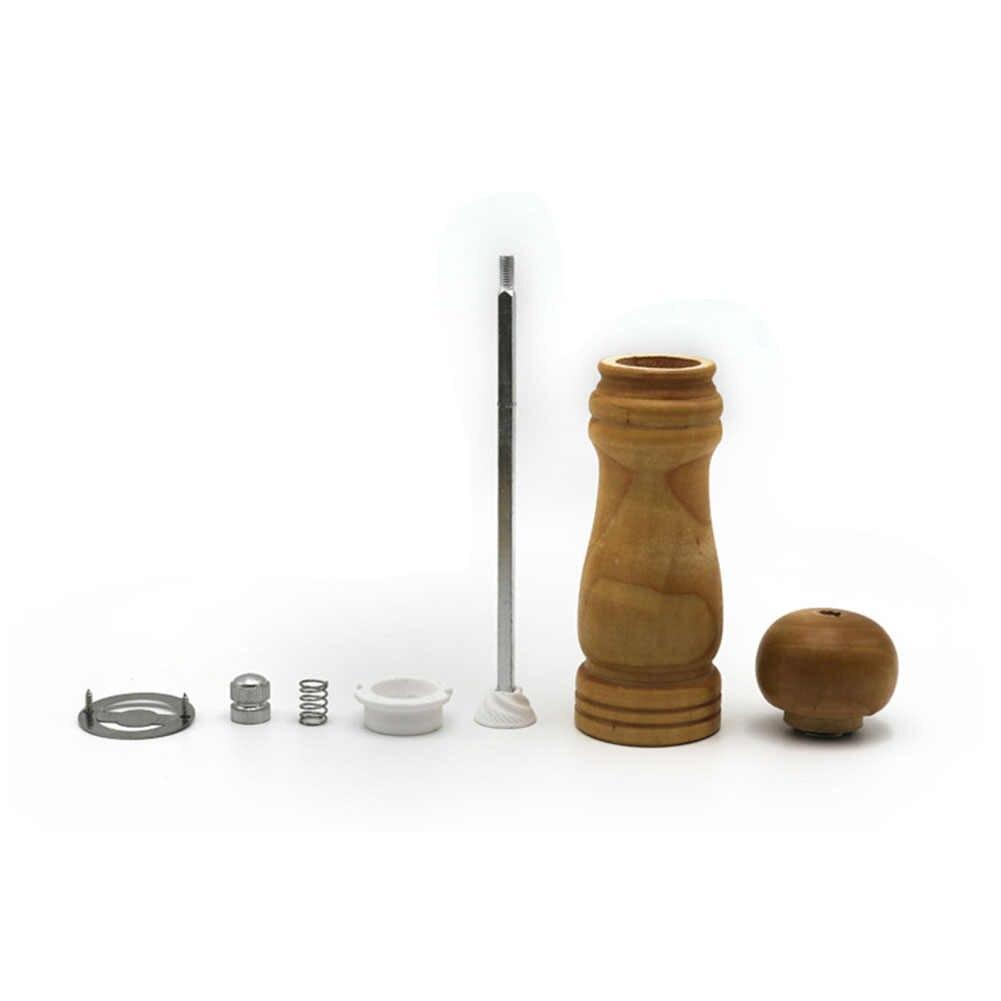 3 Размеры дерево специй мельница для перца Grinder дома аксессуары для кухни ручной приправы соль и зерна шлифовальный станок 5/6/8 дюймов
