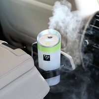 Negative Ions Replenishment Air Humidifier Car Interior Ultrasonic Freshener Aromatherapy Aroma Purifier Essential Oil Diffuser