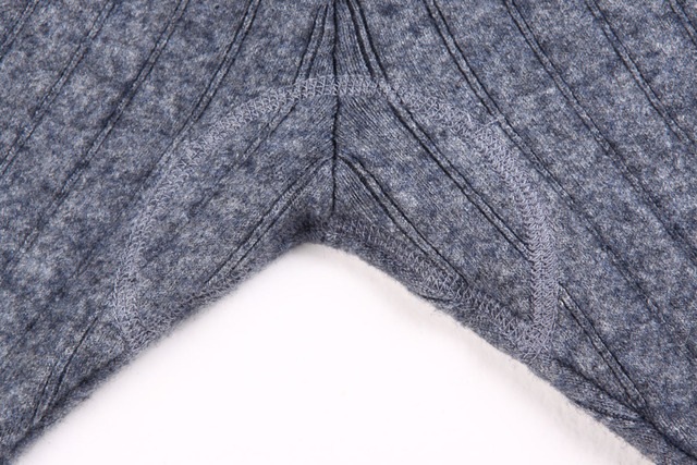 Warm Cashmere Ribbed Leggings