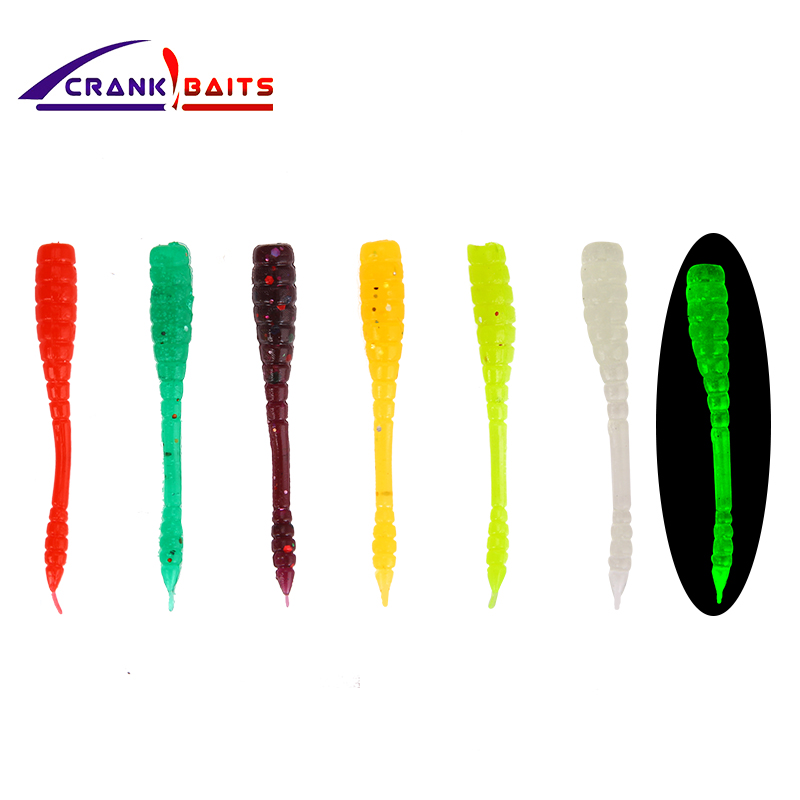 Crazy Shiner Soft Lure 4.5cm 1pcs Wobbler Jigging Lure Fishing Soft Worm Shrimp Jerkbait Ocean Fish Rock lure bass soft YYY343 5pcs lot 10 5cm 3g wobbler jigging curly tail fishing lure soft worm shrimp silicone bait fish crankbait ocean rock fishing