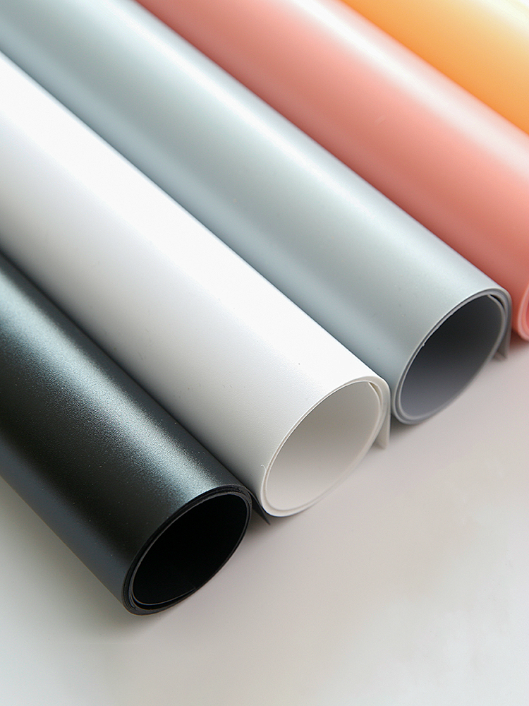50x50CM/50x100CM Pvc Solid-color Board Background Paper Photography Studio Matting Photo-taking Props