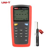 UT321 contact thermometer single input T1 can be applied to K type, J type, T type and E type thermocouple probe