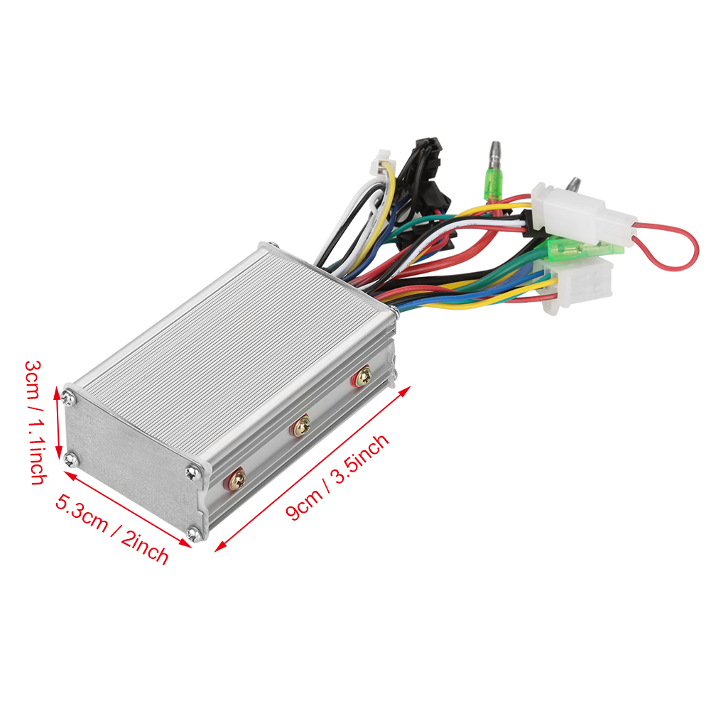 36V//48V 350W Electric Bicycle E bike Brushless DC Motor Speed Controller US Ship
