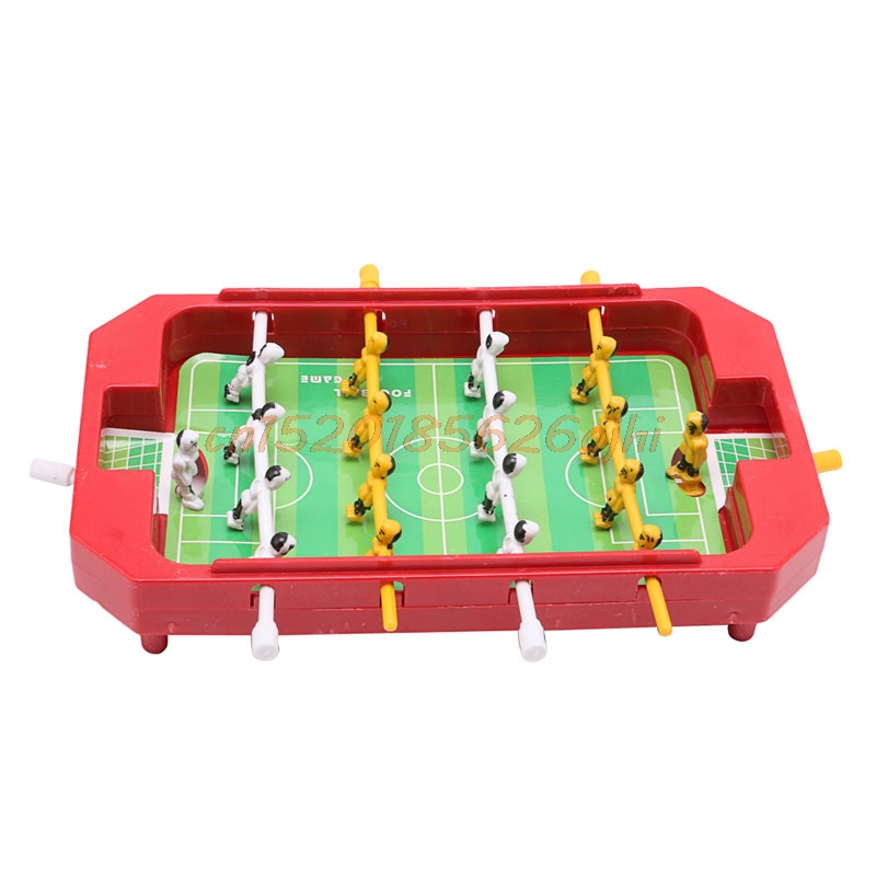 Mini Table Top Football Table Football Foosball Board Machine Home Game Toy  Gift #H030#