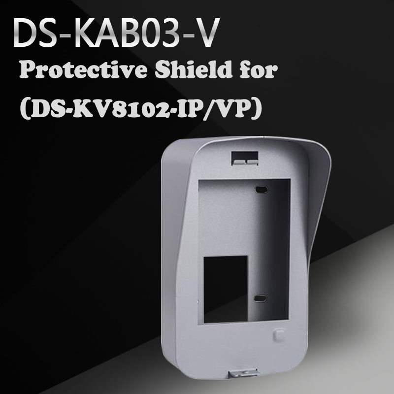 Hikvision DS-KAB03-V Protective Shield for the wall mounting of the villa door station (DS-KV8102-IP/VP) the ivory white european super suction wall mounted gate unique smoke door