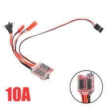 New Arrival 10A 5V RC Car Brushed ESC Brushed Speed Controller With Brake For RC Car Truck Boat цены онлайн