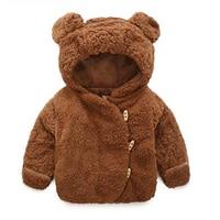 Baby jas Winter Baby Meisjes Kleding pasgeboren warm snowsuit bovenkleding bebe hoodie bont dikke peuter kinderen jongens Sneeuw Jas