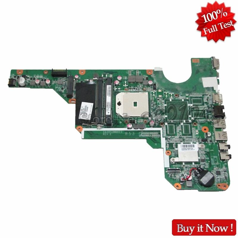 цена на NOKOTION Laptop Motherboard For Hp Pavilion G7-2000 683029-501 683029-001 Main Board DDR3 DA0R53MB6E0