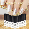 Saviland Mirror Metallic Nail Gel Soak Off UV Gel Nail Polish 12 Beautiful Colors Gel Lacquer Pick1