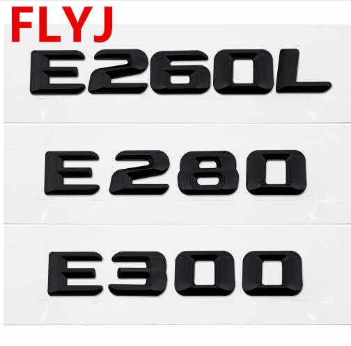 メルセデスベンツ W210 W211 S320 SLS CLK E240 E250 E260L E280 E300 E320L 車スタイリングテールステッカーリアエンブレムバッジアクセサリー