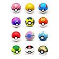12 Шт. 7 СМ Pokemon Pokeball Juguetes Игрушки Pokeball С Пикачу Покемон Аниме Фигурки Случайные Для детей Игрушки