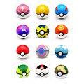 12 Pcs 7 CM Juguetes Brinquedo Pokeball Com Pokemon Pikachu Pokemon Pokeball Anime Figuras de Ação Aleatória Para Brinquedos infantis
