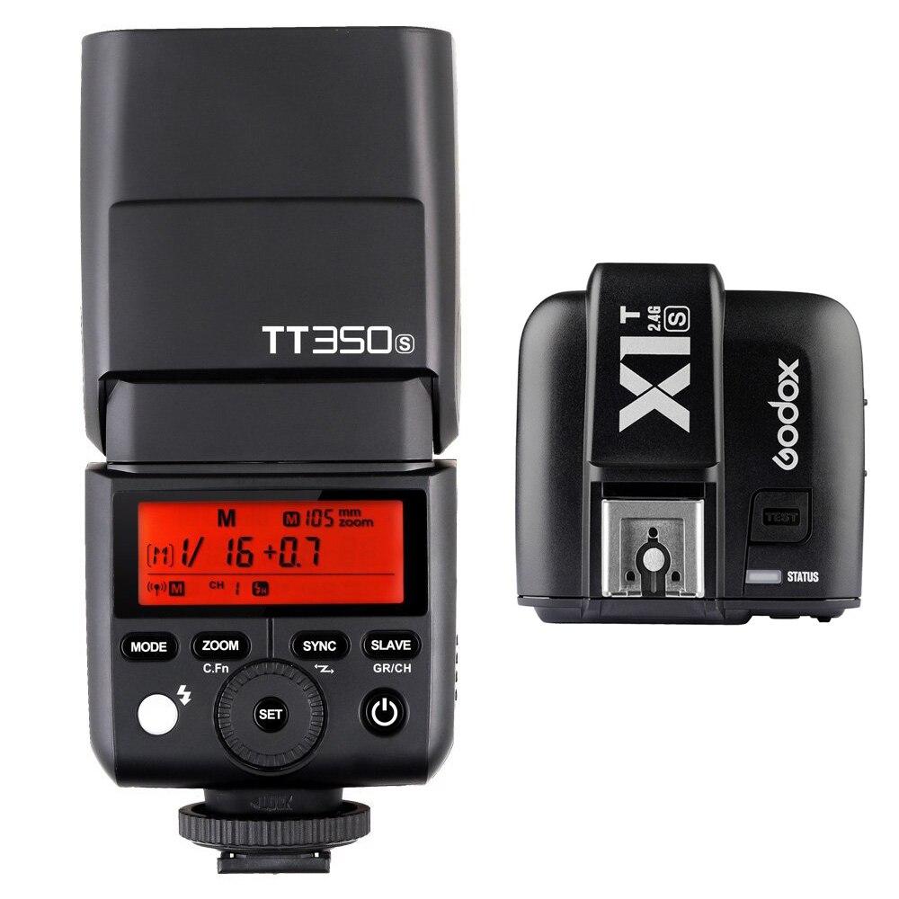 Godox TT350S Speedlite 2.4G HSS TTL GN36 kaamera välklambi + X1T-S - Kaamera ja foto - Foto 1