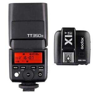 Godox TT350S Speedlite 2.4G HSS TTL GN36 Camera Flash Light+X1T-S Trigger for Sony A77II A7RII A7R A58 A99 RX10 A6000 A6500 DSLR