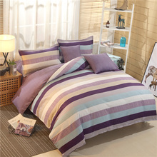Bedding Set Fashion Simple Plant Cashmere Cotton Sanding 4 Piece Dormitory 3 Quilt Cover Sheets