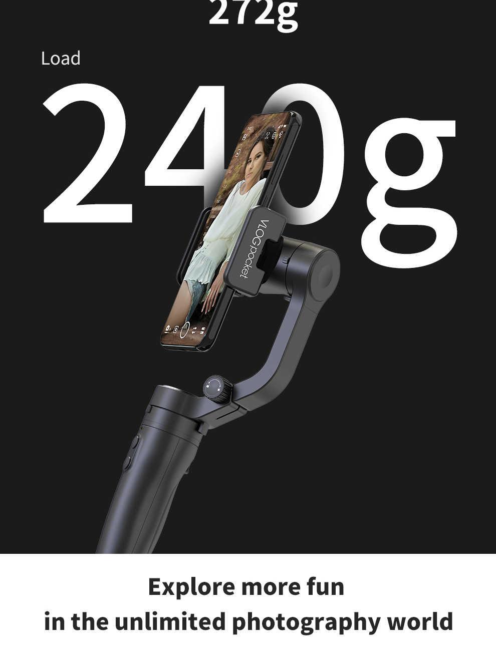 Обратитесь в службу поддержки по Feiyu Tech Vimble 2/Vlog Карманный 3-осевой шарнирный стабилизатор для смартфона стабилизатор, выдвигаемая ручная   36/5000 Обратитесь в службу поддержки по купонам PK DJI Osmo 2 Zhiyun