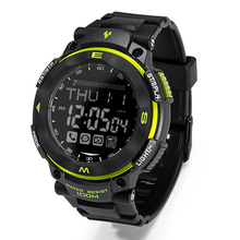 Youngs PS1503 Bluetooth Outdoor Smart Watch Waterproof Message Remind Sync Call Find Phone SOS Pacer Wristwatch for Smartphone