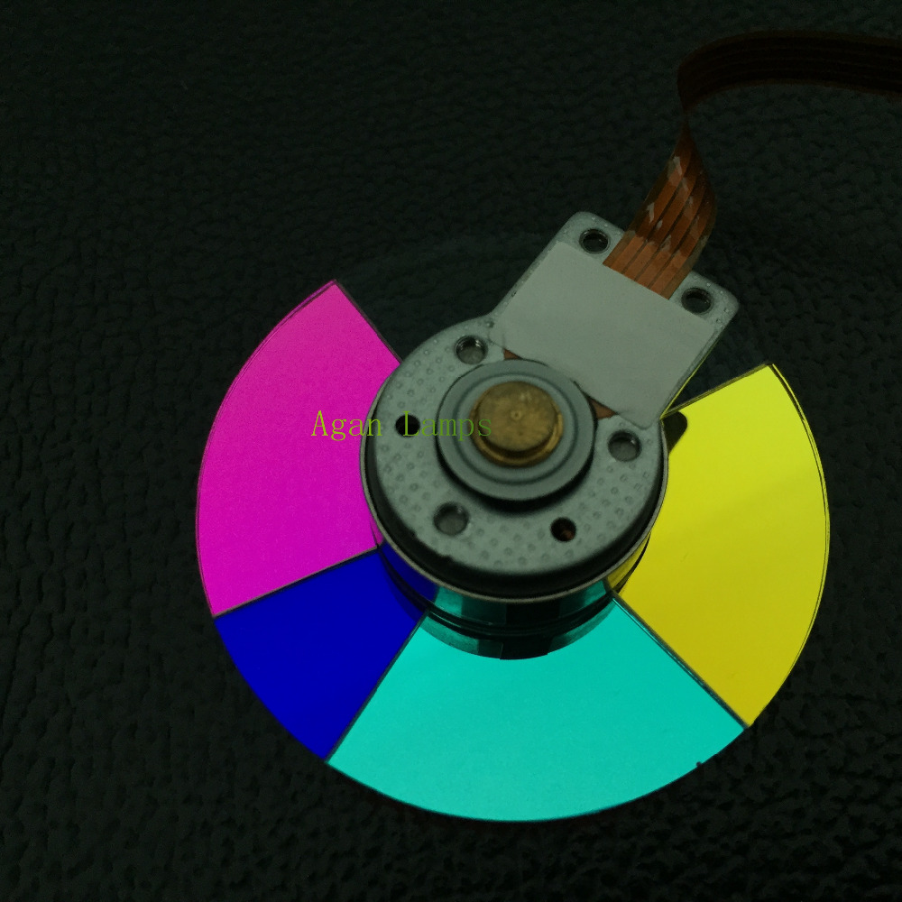 100% NEW original Projector Color Wheel for Vivitek D508 D509 D510 D518 D511 wheel color new original projector color wheel for vivitek d929tx projector color wheel