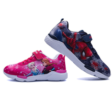 2019 Spring New Children Shoes Girls Sneakers Princess Kids Shoes
