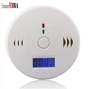 Image 2 - SmartYIBA スマートハウス Co 検出器警告アラーム一酸化炭素モニターセンサー中毒ガス検知器ホームセキュリティ警報