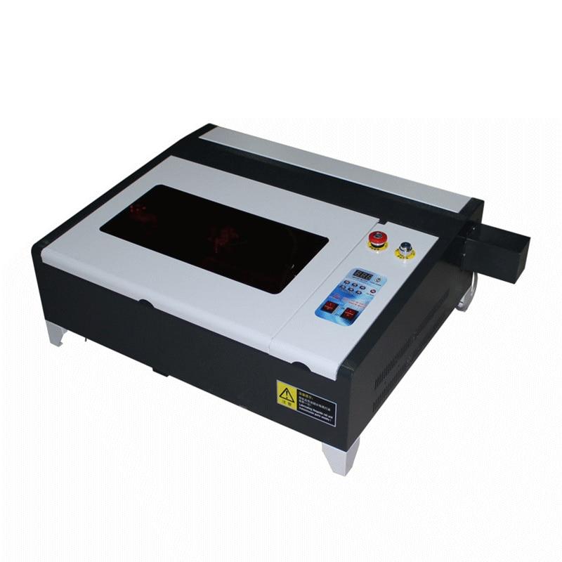 MINI CNC machine de gravure LY 4040 co2 laser coupe 50 W