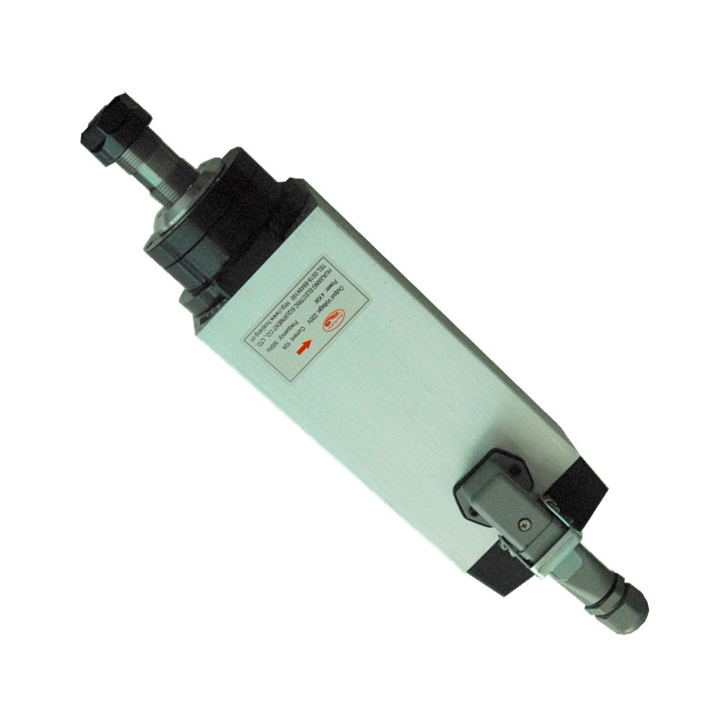 CNC Air Cooled 220V Spindle Motor ER20 Router Tools For Milling machine 4pcs ceramic bearings 3kw 220v air cool spindle er20 cnc milling machine spindle motor