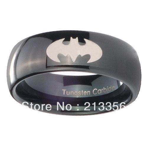 Popular Black Gold Tungsten Ring Men Buy Cheap Black Gold Tungsten